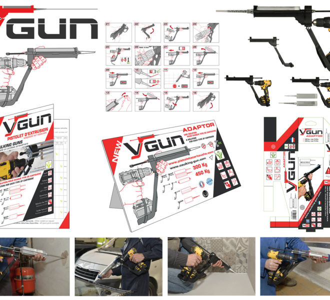 Communication globale pour VGUN pistolets à cartouches par Kreastyl Communication