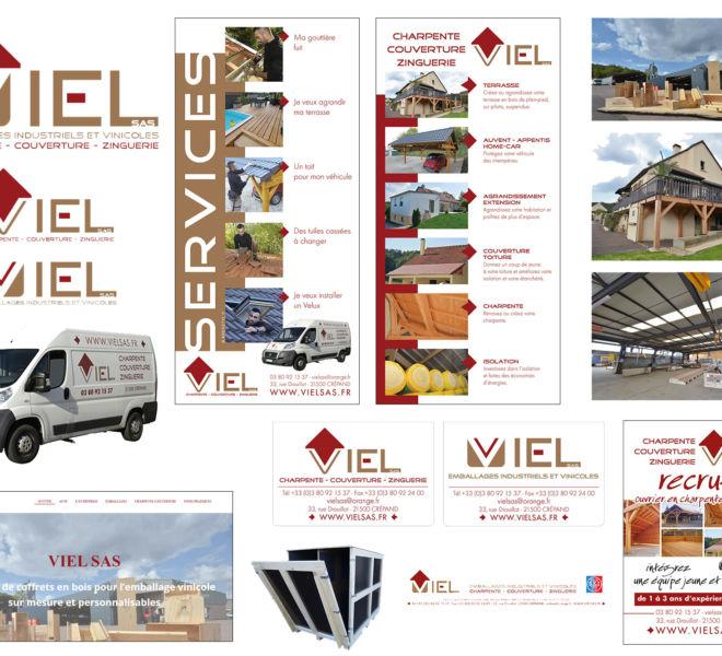 Communication globale pour VIEL SAS par Kreastyl Communication