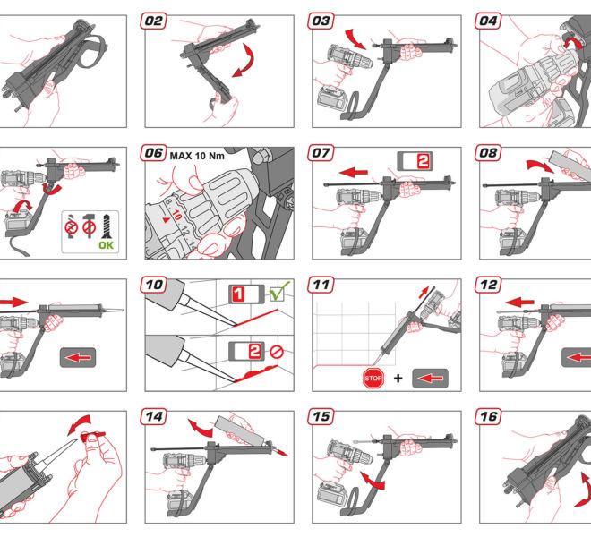Modes d'emploi en dessin pour VGUN par Kreastyl Communication