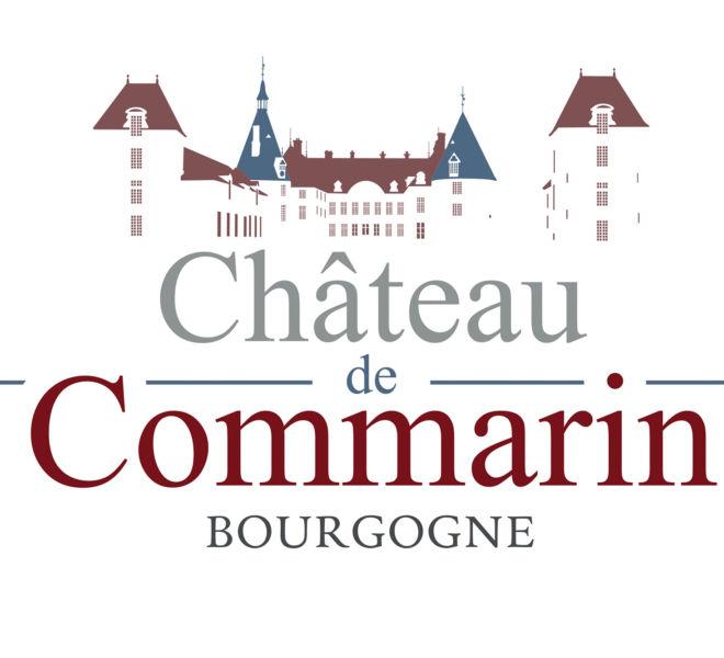 Logo chateau de Commarin par Kreastyl Communication