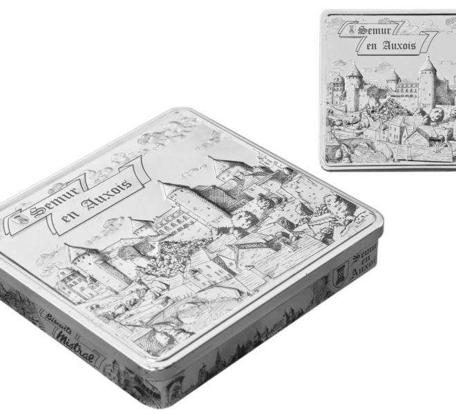 Packaging pour la Biscuiterie du Mistral par Kreastyl Communication