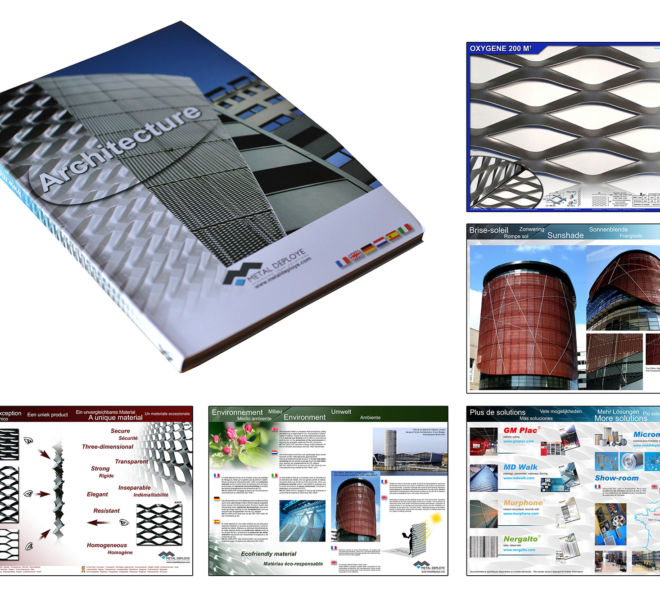 Catalogue Metal Déployé par Kreastyl Communication