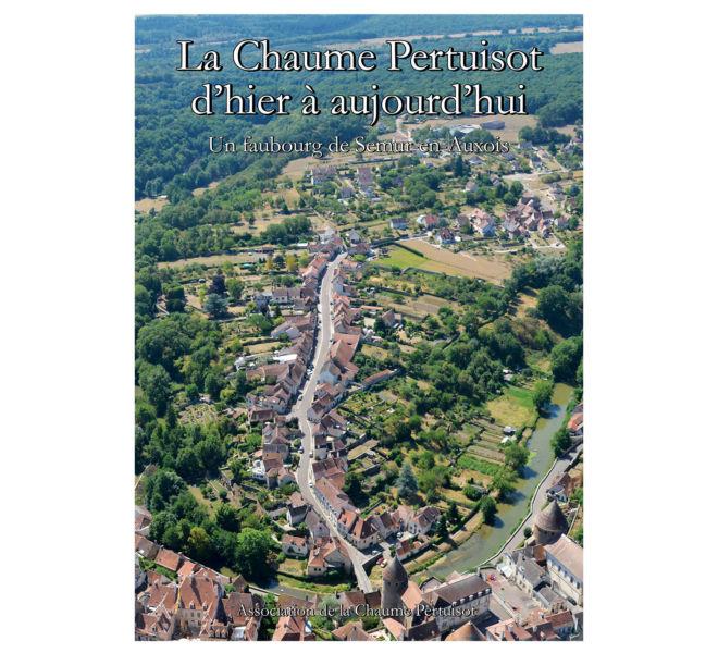 Plaquette la Chaume Pertuisot à Semur-en-Auxois réalisée par Kreastyl Communication