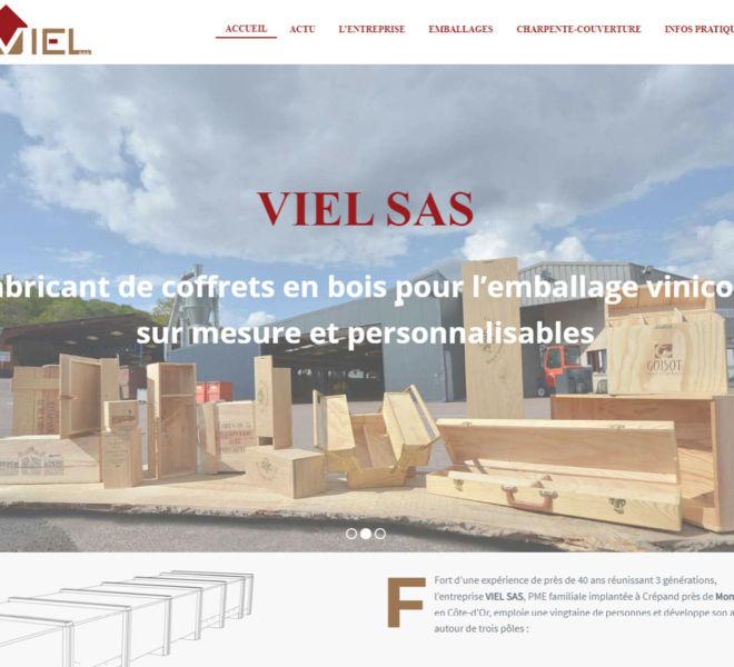 Viel SAS a fait confiance à Camille Garcia, partenaire de Kreastyl Communication pour créer son site vitrine