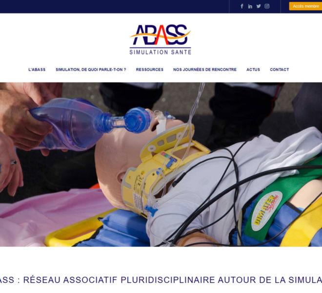 L'association Abass a fait confiance Camille Garcia, partenaire de Kreastyl Communication pour son site internet