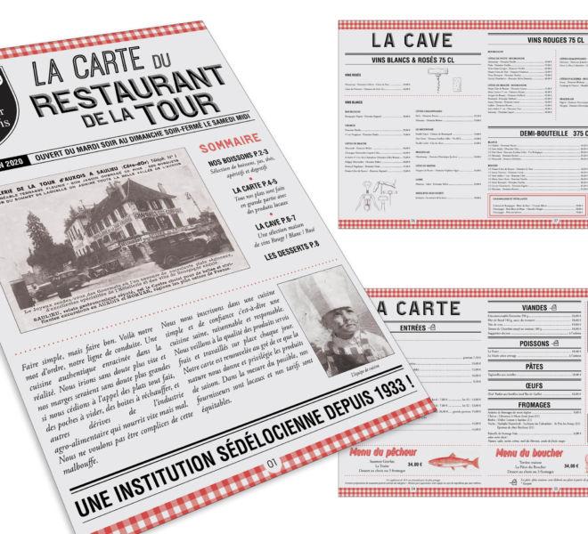 Carte Tour d'Auxois