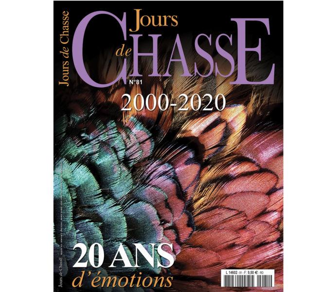 Mise en page de Jours de Chasse, magazine trimestriel de chasse